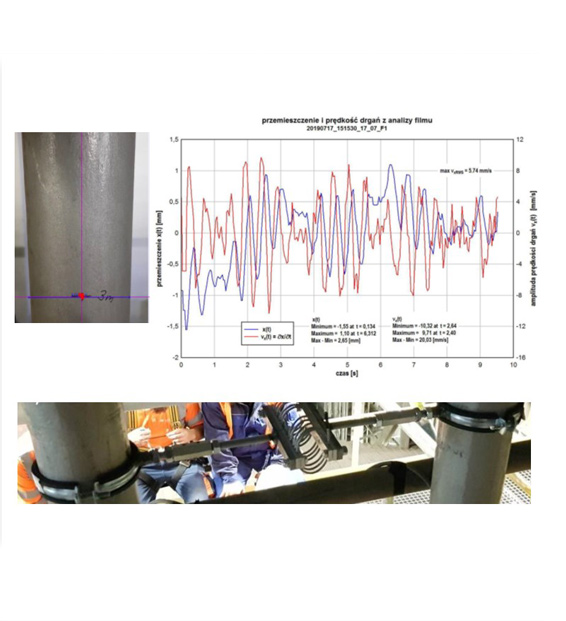 Vibrations identification and damping