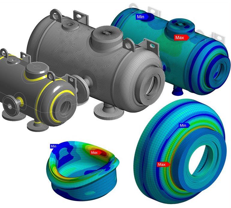 Pressure Vessel – Detailed Weld Assessment
